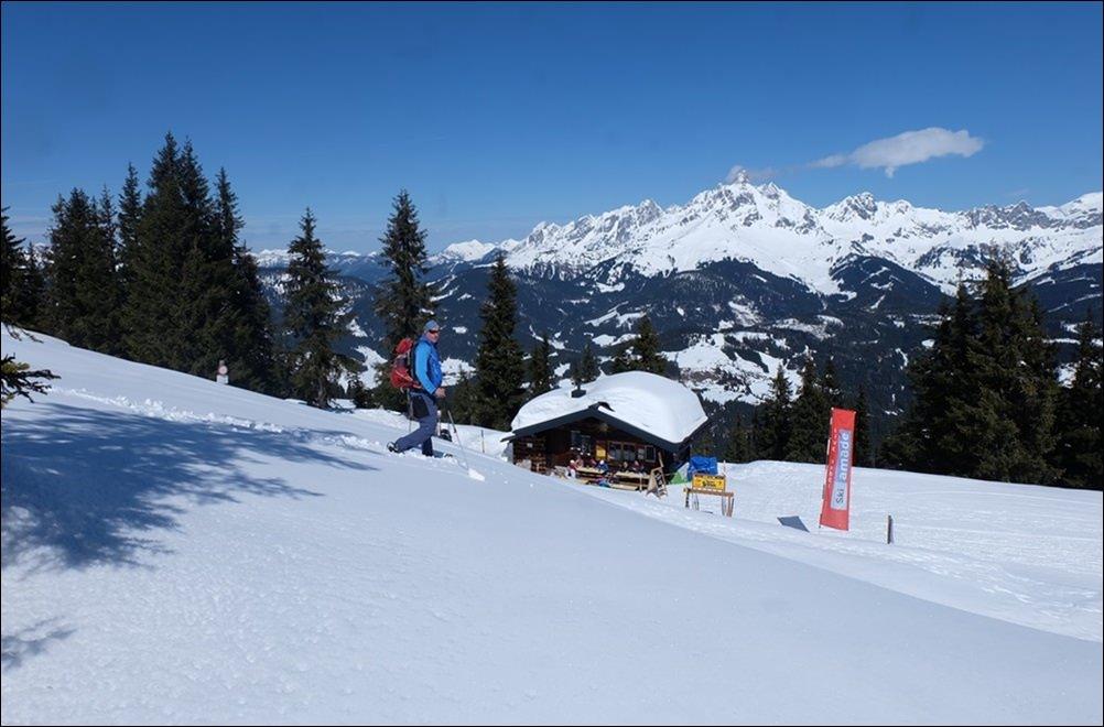 Die letzten Meter zur kleinen Karhütte am Gipfel des Rossbrands | Pongau, Österreich