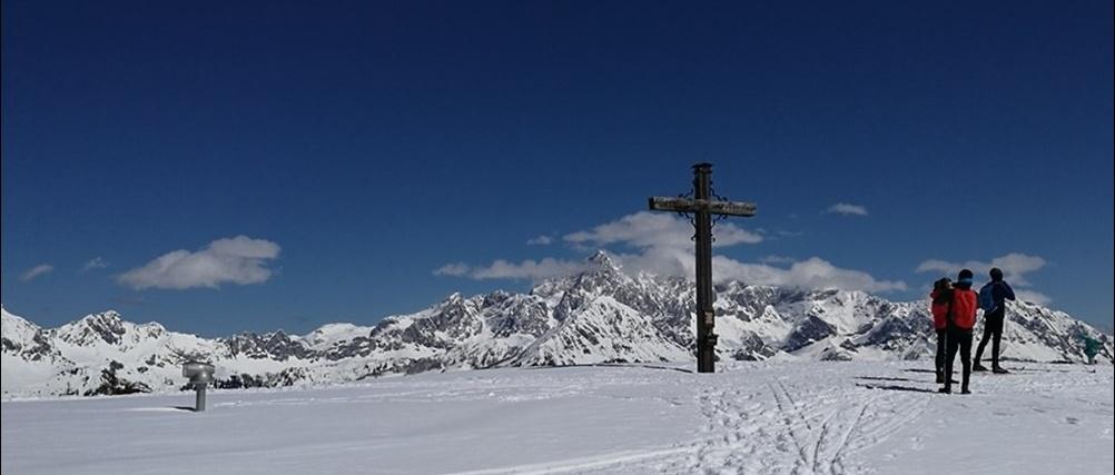 Gipfelbuch Rossbrand – der Hausberg von Radstadt mit Schneeschuhen