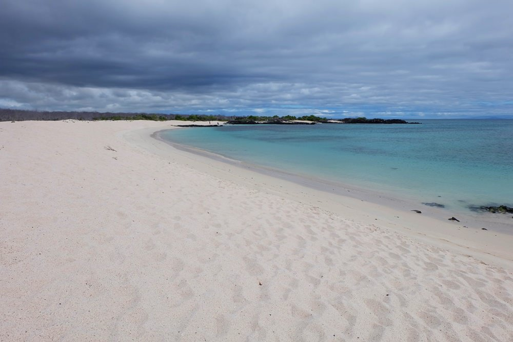 Traumstrände sind es übrigens auch, nebenbei bemerkt | Galapagos