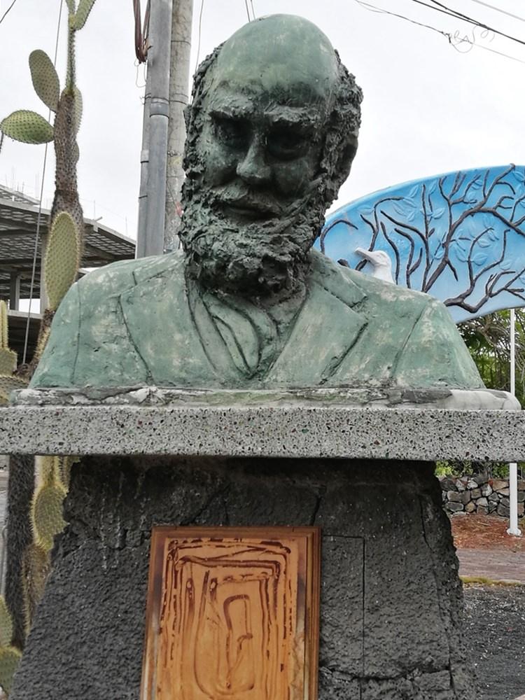 Charles Darwin, ein früher Galapagos Fan.