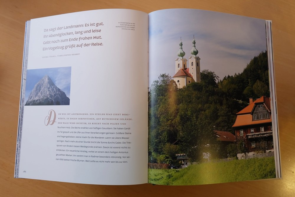 Einleitung Kapitel 6 über Radmer in der Steiermark | Der Geschmack der Berge