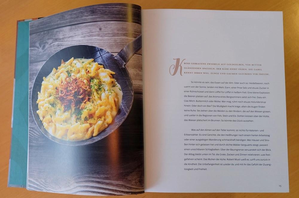 Einleitung zu Der Geschmack der Berge - Eine kulinarische Reise zu den Almen Österreichs