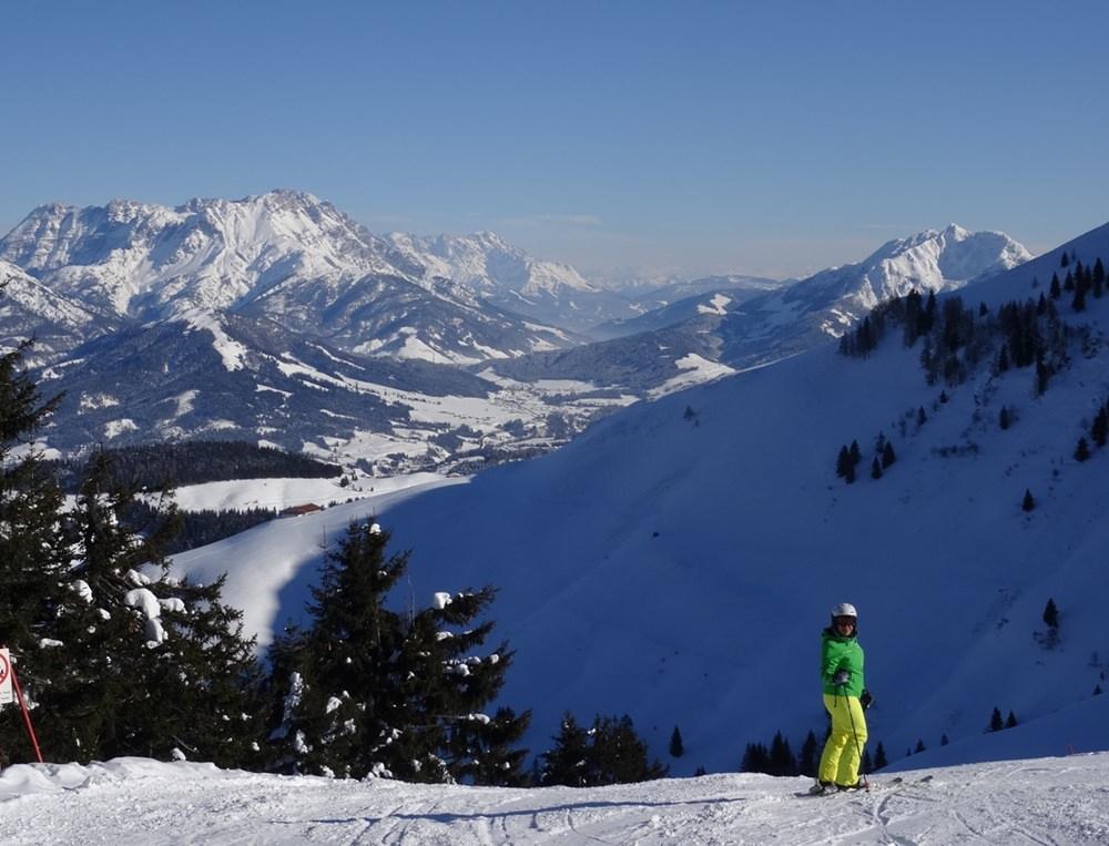 Gipfelglück und ein wenig Pistenglück - ein Tag wie aus dem Bilderbuch im Skigebiet Skistar St. Johann