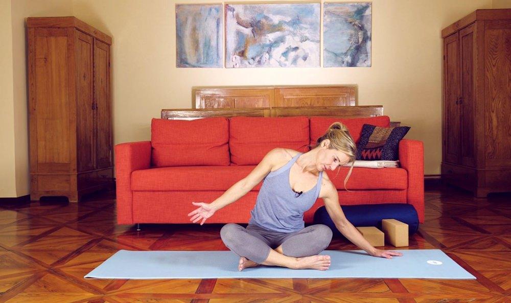 Yoga Sessions auf Vimeo zum Mitmachen und Nachmachen. | Yoga Buchtipp