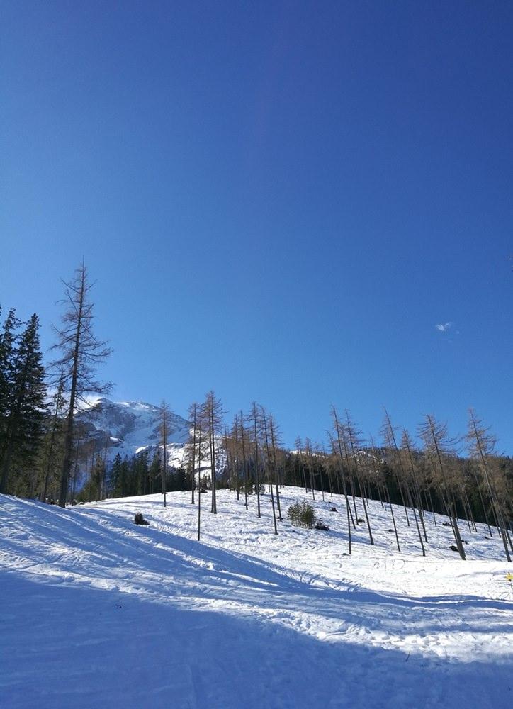 Blauer Himmel über der Stubenalm | Nationalpark Berchtesgaden