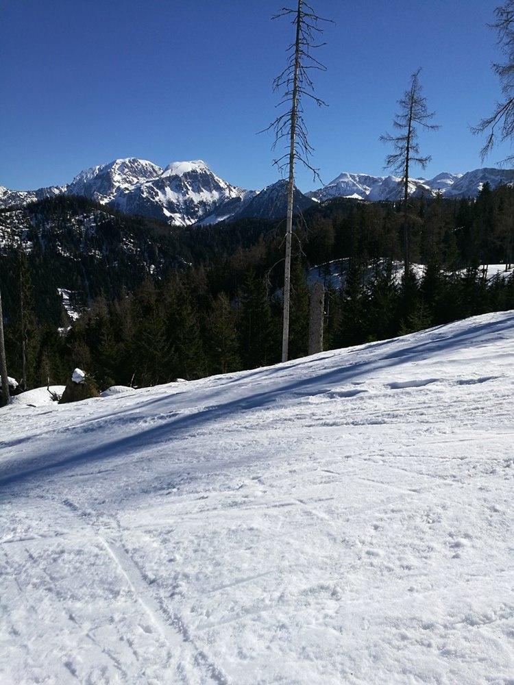 Eine so beliebte Tour aber ganz schön leer - mit Schneeschuhen zur Watzmann Gugl | Nationalpark Berchtesgaden