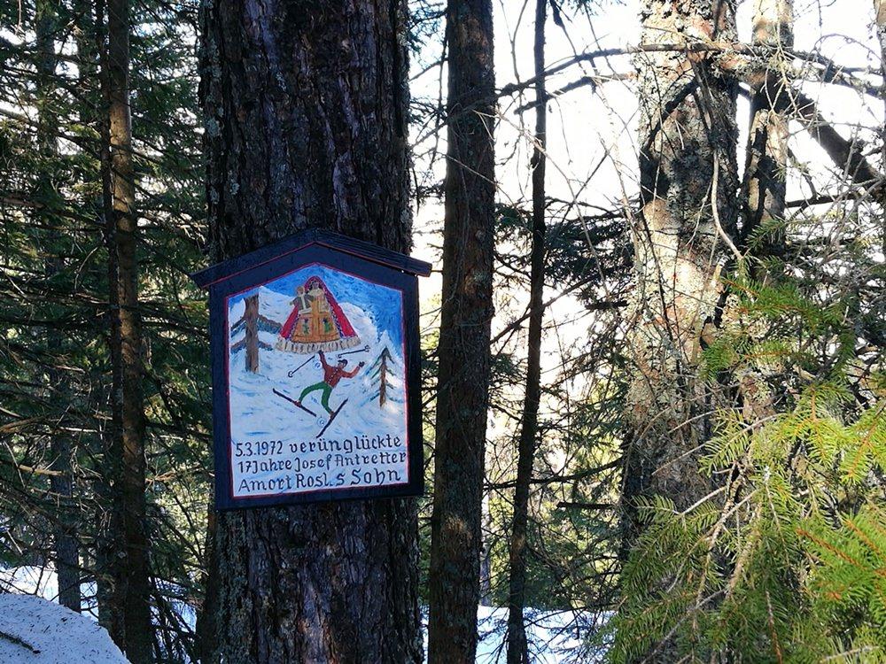 Nachdenkliche Momente beim Schneeschuh Wandern | Nationalpark Berchtesgaden