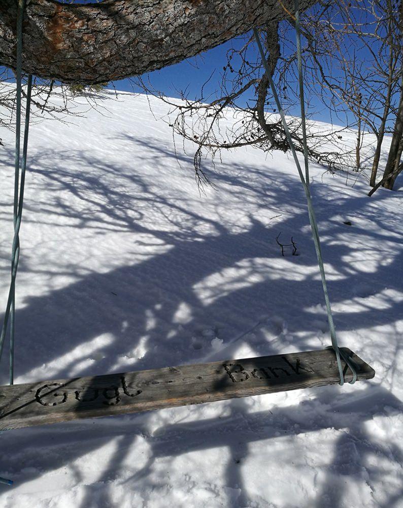 Die Gugl Schaukel im Nationalpark Berchtesgaden