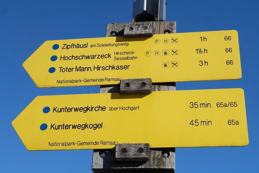 Wanderwege starten direkt am Hotel | Bergsteigerdorf Ramsau
