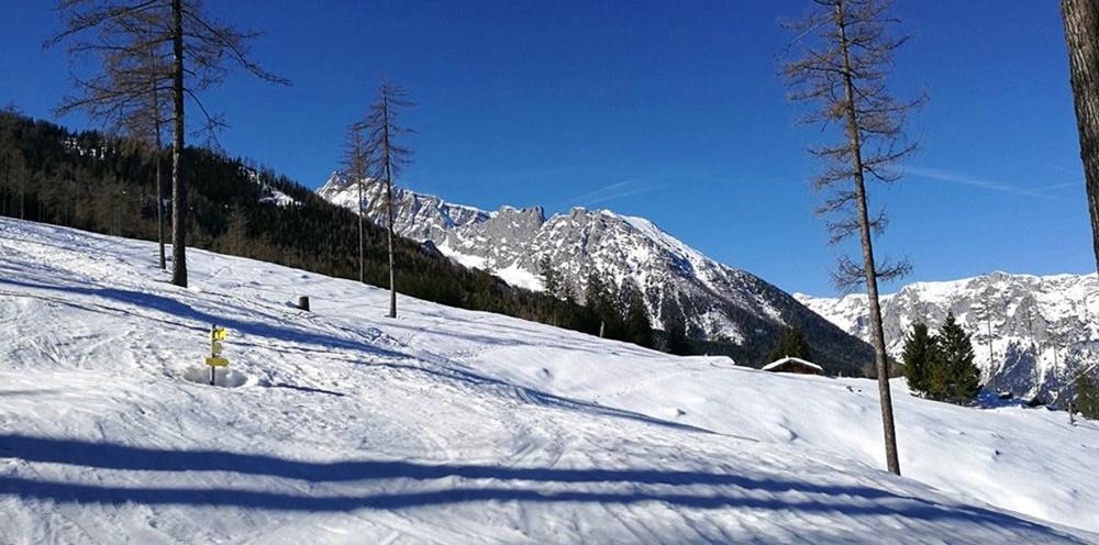 Gipfelbuch Watzmann-Gugl mit Schneeschuhen