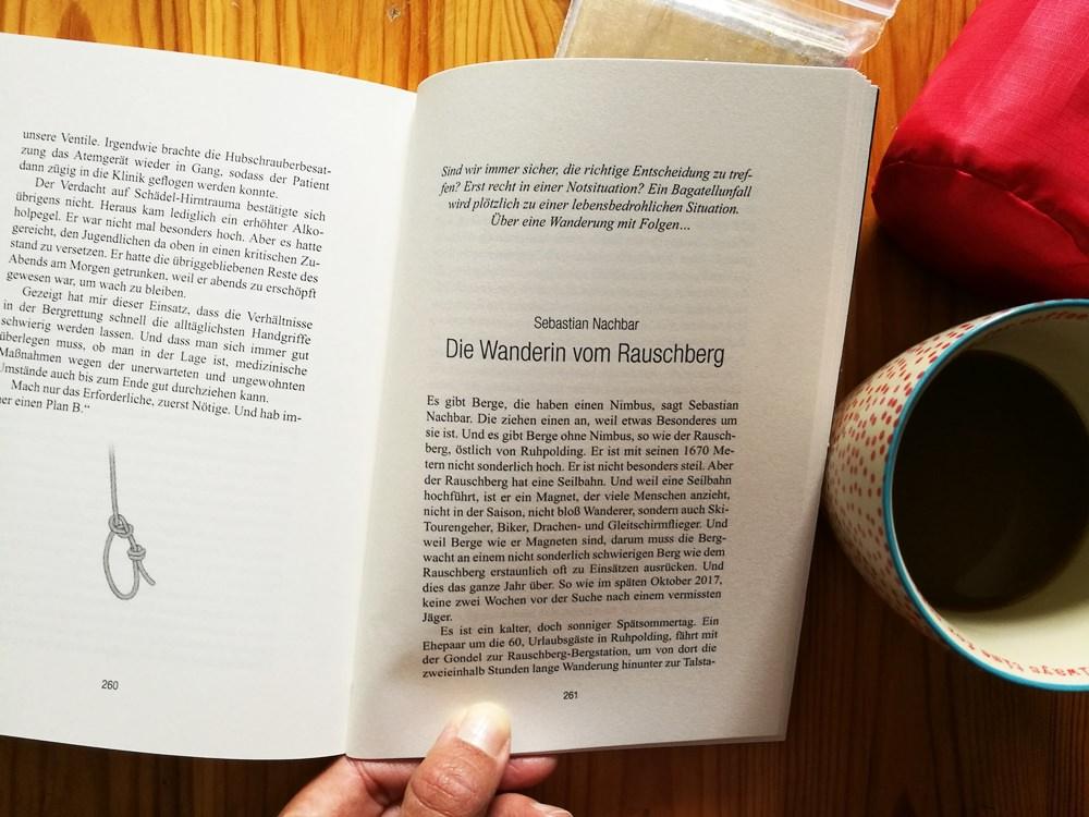 """Bilder entstehen im Kopf, da braucht das Buch keine Fotos. Buchtipp """"Am Berg"""", millemari. Verlag."""