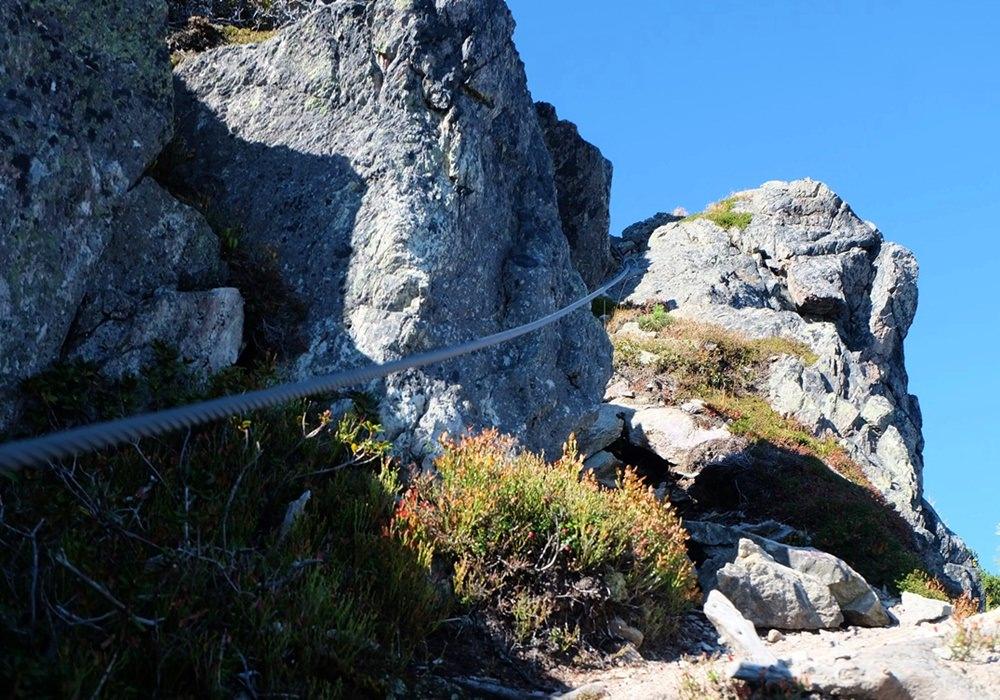 Ein Tanz am Stahlseil - Klettersteig-Genuss an der Henne in den Kitzbüheler Alpen, Tirol