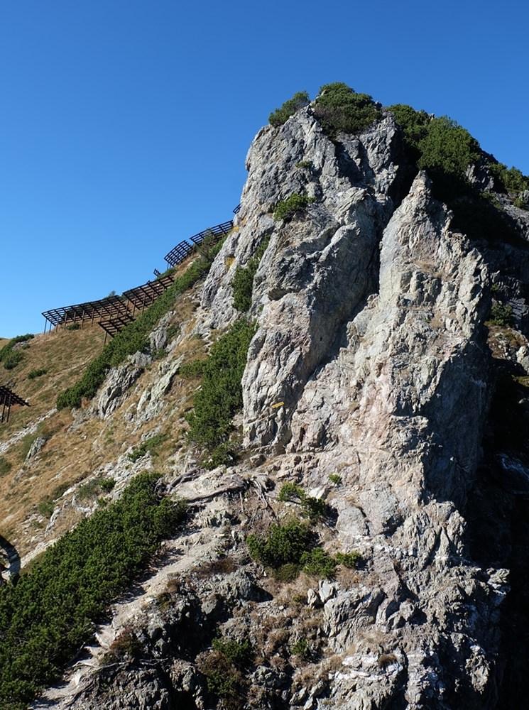 Henne Klettersteig in den Kitzbüheler Alpen, Tirol