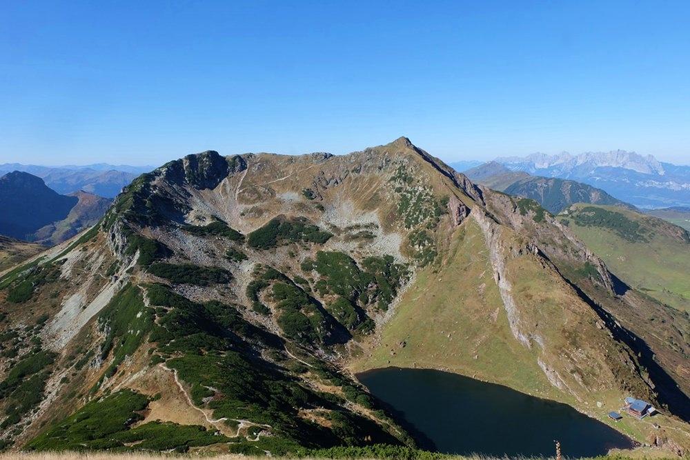 Wildsee und Wildseeloder von der Henne aus gesehen | Kitzbüheler Alpen, Tirol