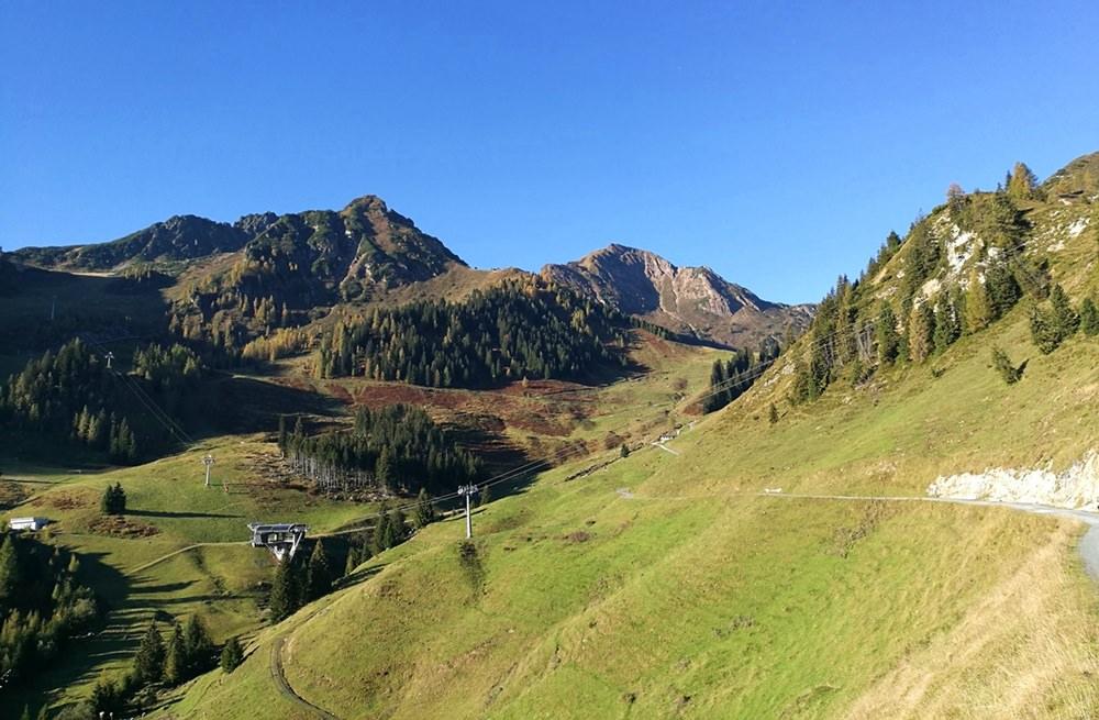 Zustieg zum Henne Kletttersteig an einem perfekten Herbsttag | Kitzbüheler Alpen, Tirol
