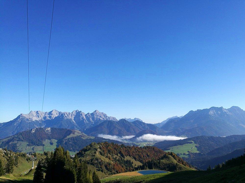 Ein herrlicher Herbsttag in Fieberbrunn und den Kitzbüheler Alpen | Tirol, Österreich