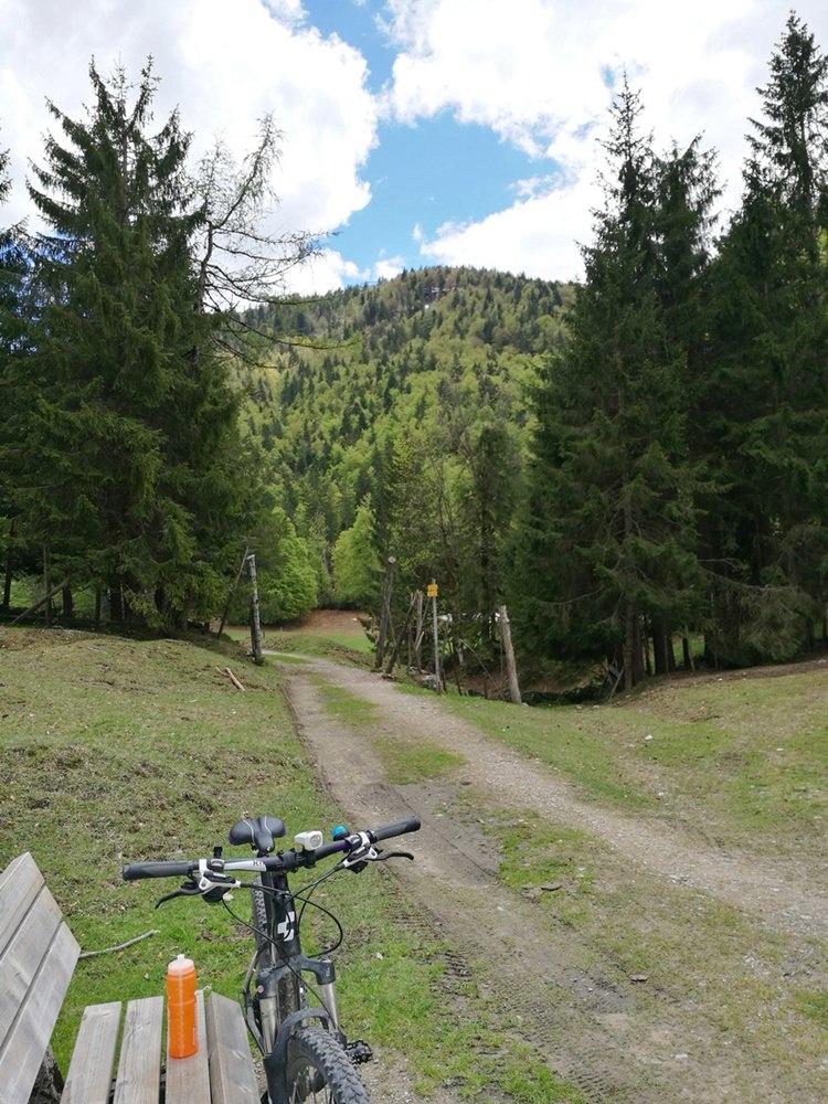 Biketowork - Heimweg über den Jochberg | Reit im Winkl, Chiemgau