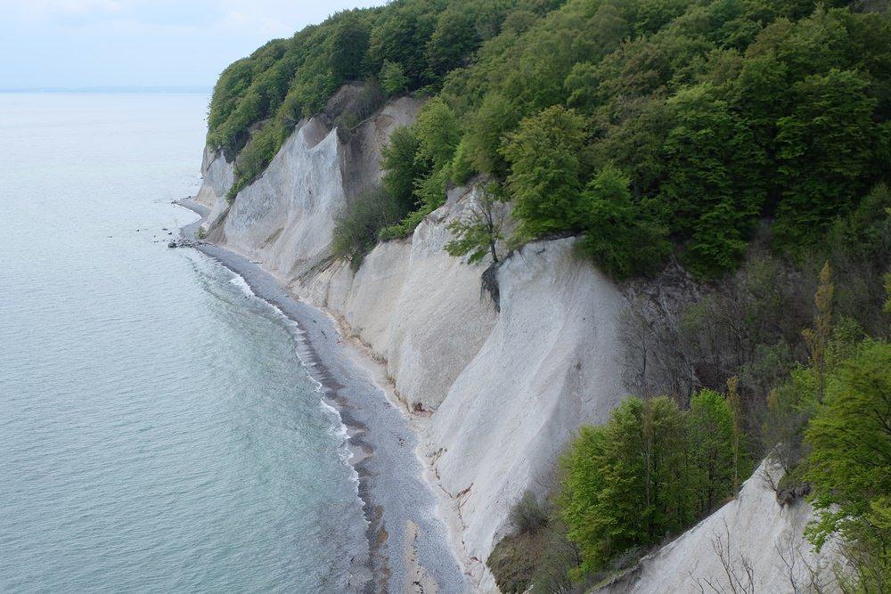Steilküsten-Wanderung auf Rügen, so schön anzusehen, diese Kreidefelsen!