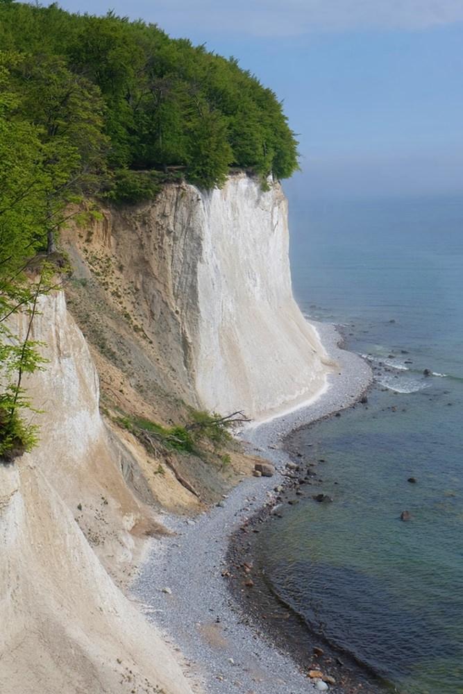Wanderung entlang der Kreidefelsen, dem Wahrzeichen von Rügen