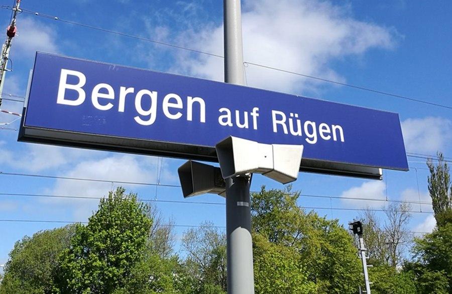 Rügen mit der Bahn - mit dem ICE nach Bergen auf Rügen