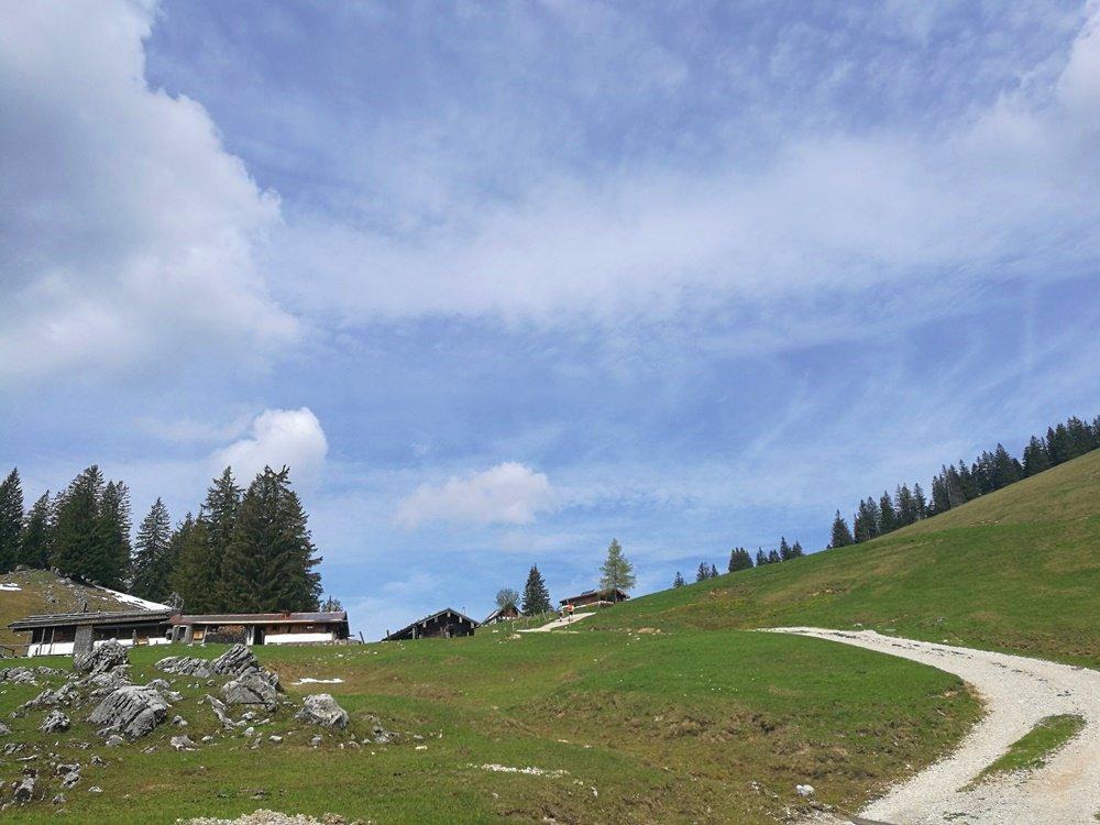 Die Haaralm, auf dem Weg zur Haaralmschneid | Ruhpolding, Chiemgau