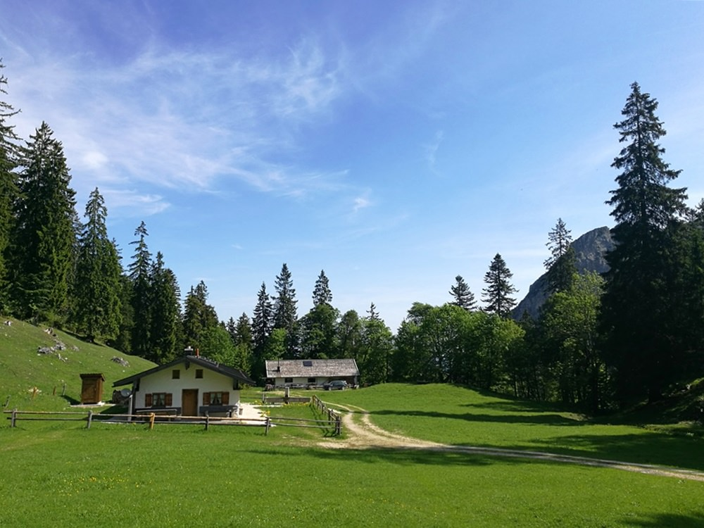 Ruhe und Frieden auf der Hinteralm | Ruhpolding, Chiemgau