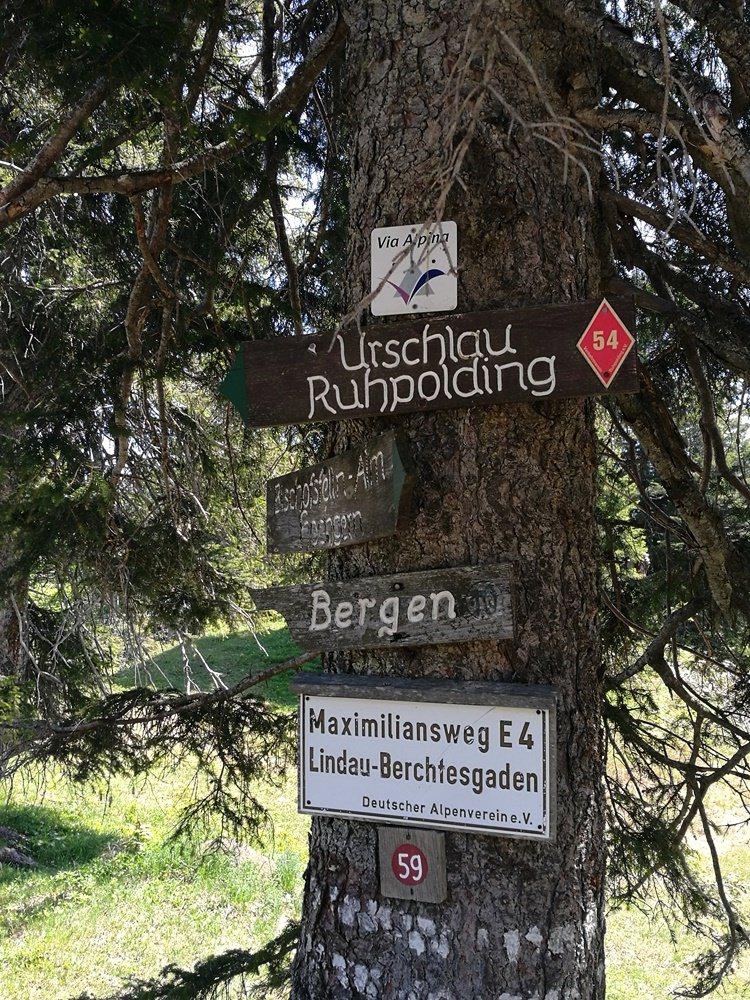 Berggehen im Chiemgau