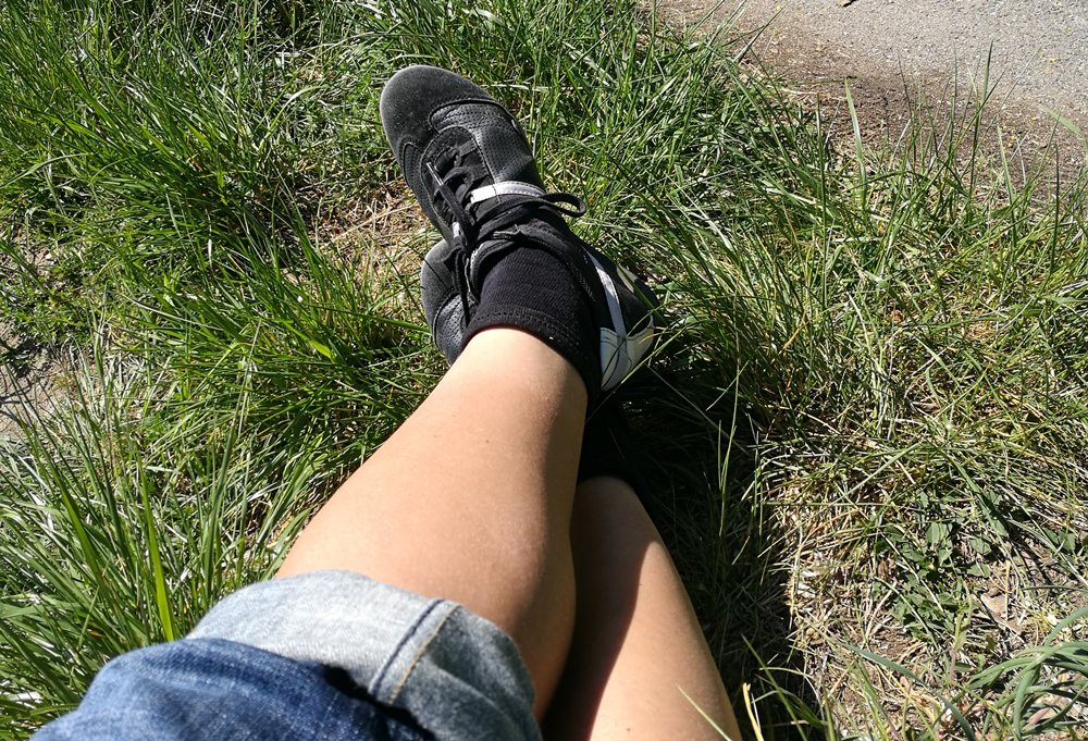 Das Gegenteil von Profi: wandern in Sneakers und Jeans an der Donau von Weltenburg nach Kelheim