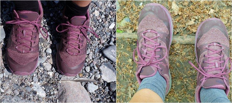 Mit den Keen Terradora Reise-Schuhe auf Rügen. Am Strand, im Wald, bei Sonne und Regen.