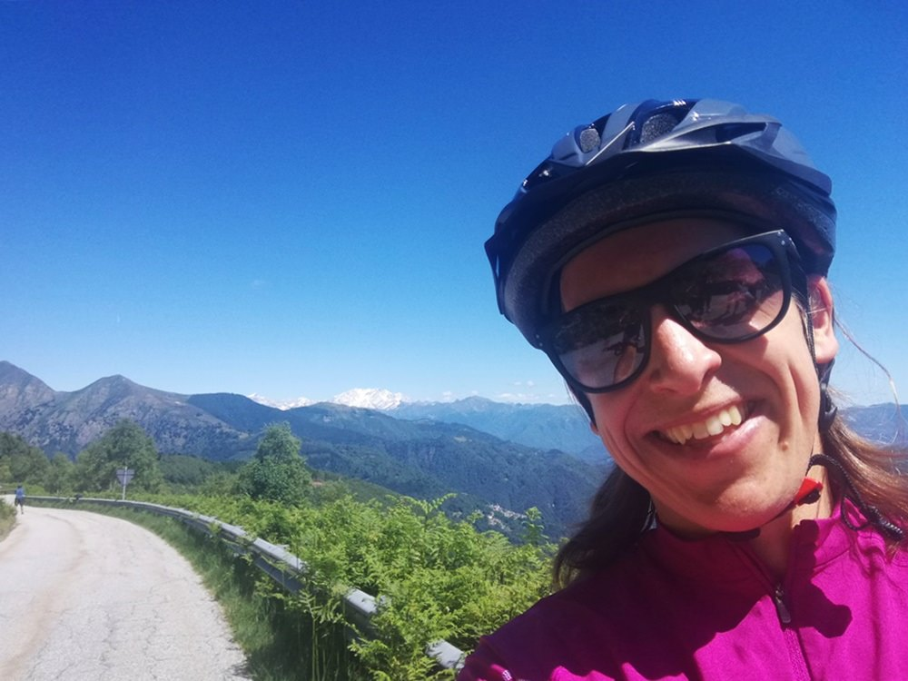 Spaß mit dem E-Bike statt Berge hinauf quälen. Auch mal schön!