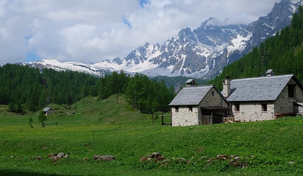 Alpe Devero im Piemont nahe des Lago Maggiore