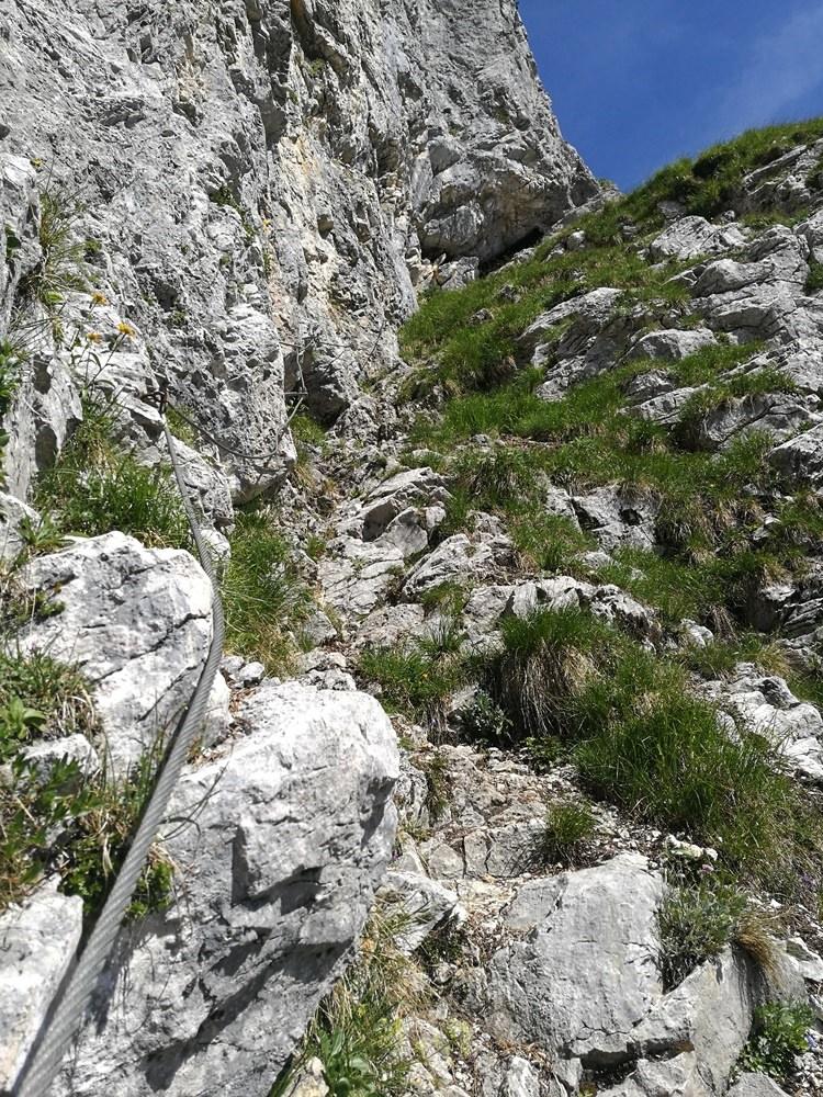 Seilversicherter Weg zur Pyramidenspitze | Tirol, Österreich