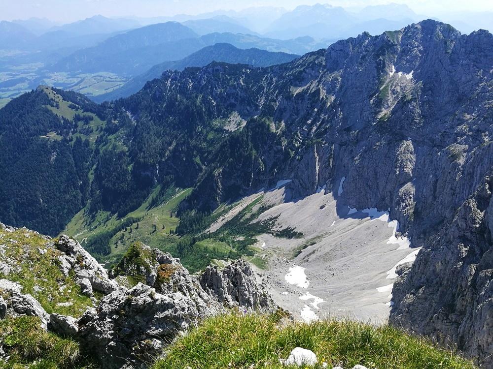 Auf der Pyramidenspitze über dem Winkelkar | Kaisergebirge, Österreich