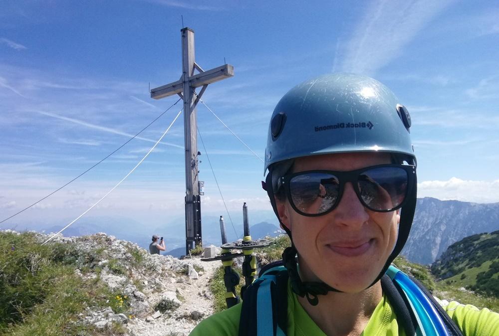 Gipfel-Selfie an einem herrrlichen Sommertag im Kaisergebirge | Tirol, Österreich