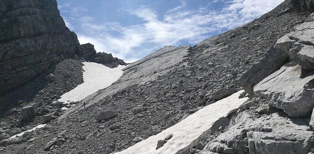Gipfelbuch Drittes Watzmann Kind in Berchtesgaden