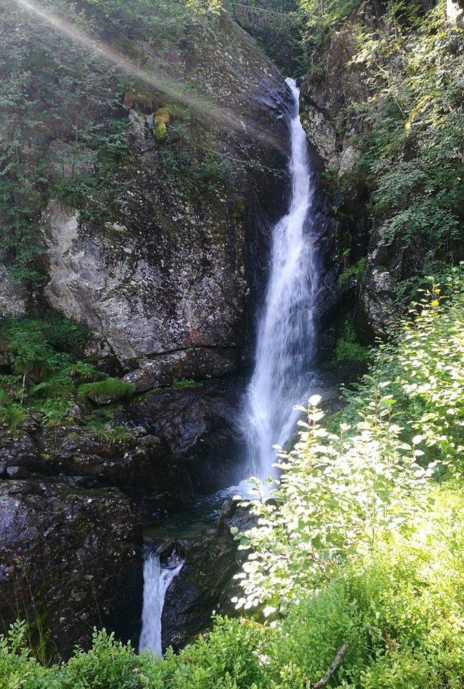 Wasserfall am Kastensteig in der Wildschönau | Kitzbüheler Alpen