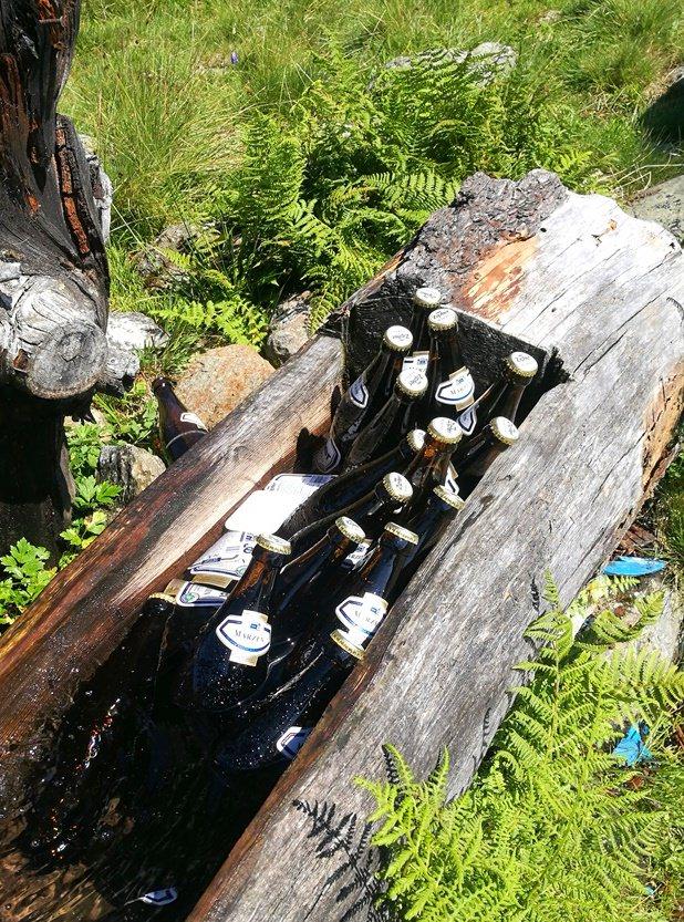 Der erfrischende Brunnen an der Gressensteiner Alm | Wildschönau