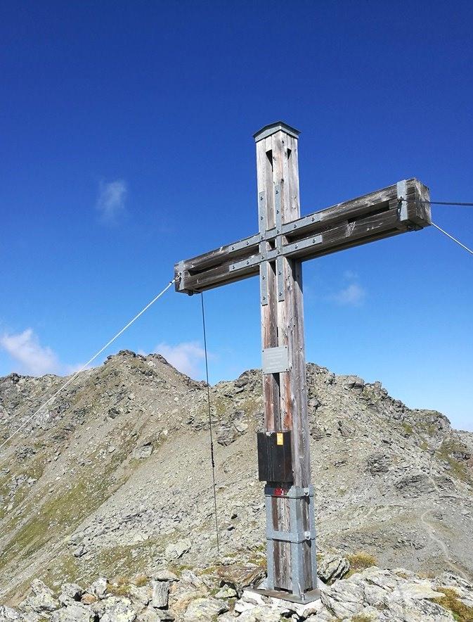 Gipfelkreuz Grafmartspitze