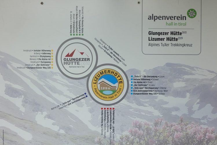 alpines tuxer trekking kreuz
