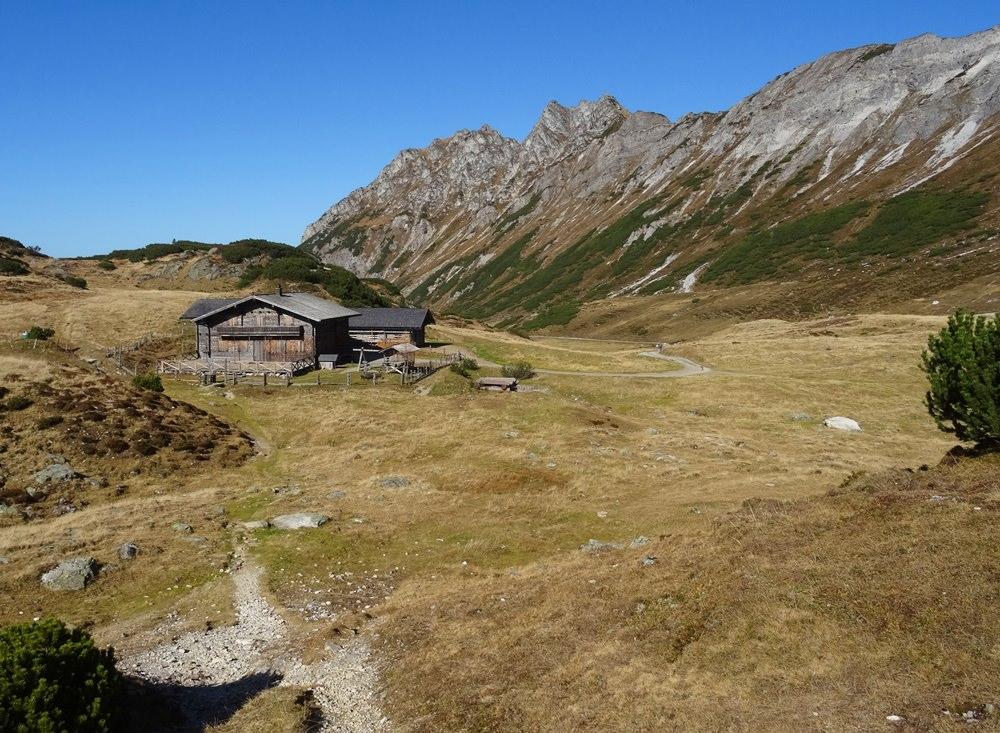 Blick zur Oberhütte in den Schladminger Tauern