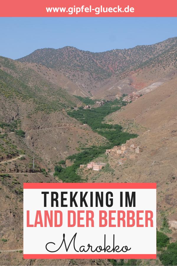 Trekking Urlaub in Marokko - wandern im Land der Berber