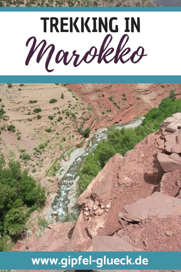 Erfahrungen vom Trekking Urlaub in Marokko - wandern im Land der Berber