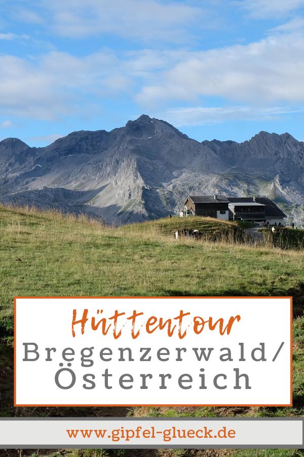 Biberacher Hütte und Hochkünzelspitze: Hüttentour im Bregenzerwald