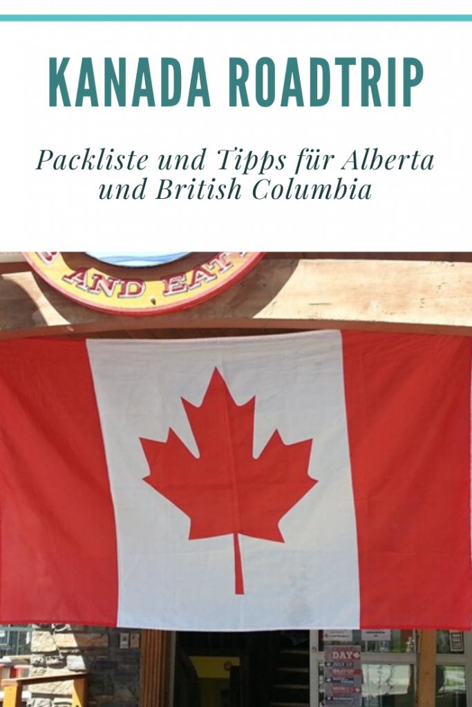 Kanada Roadtrip - was muss man einpacken für eine Kanada Reise