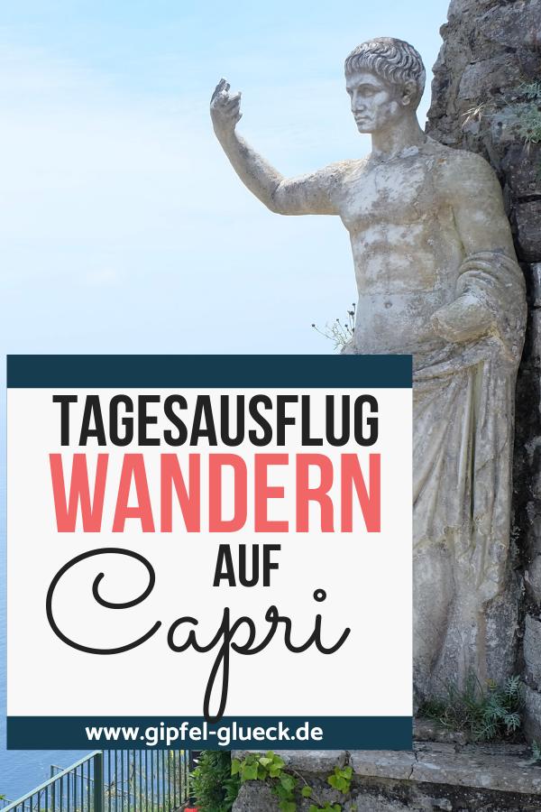 Erfahrungen vom Wandern auf Capri / Italien
