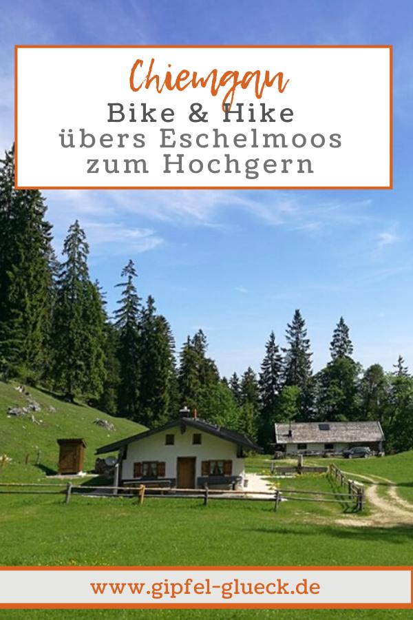 Bike & Hike im Chiemgau: von Ruhpolding auf den Hochgern