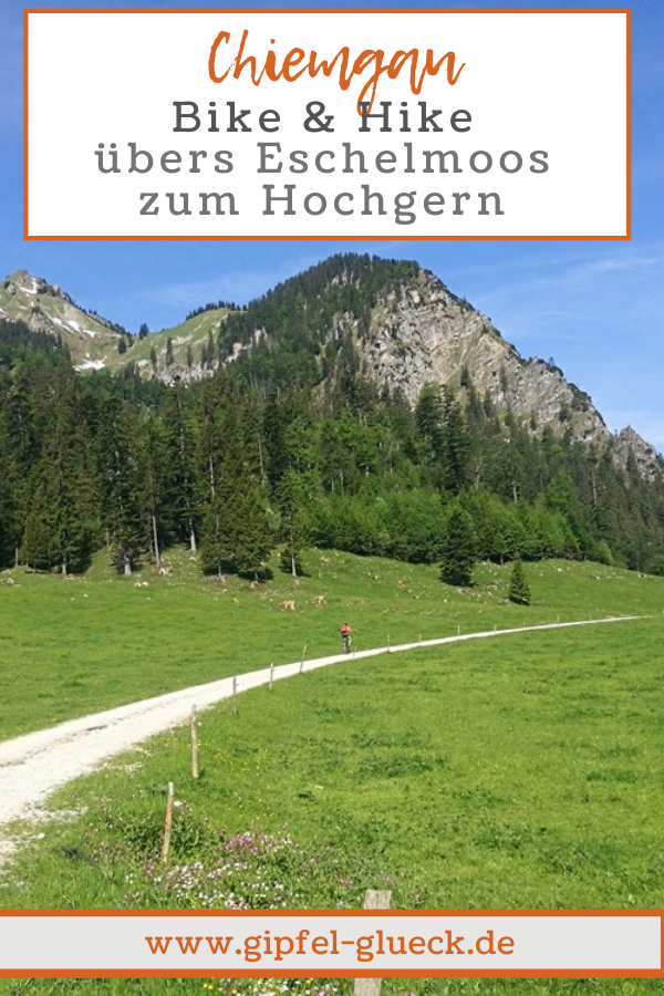Bergtour im Chiemgau: übers Eschelmoos auf den Hochgern