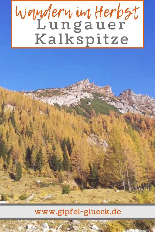 Lungauer Kalkspitze im Herbst