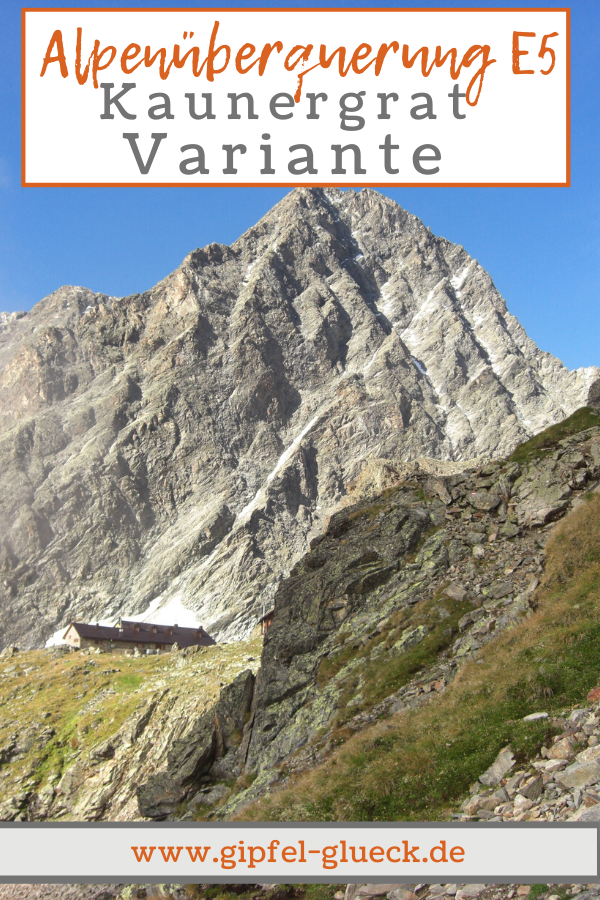Alpenüberquerung auf dem E5: die Kaunergrat Variante