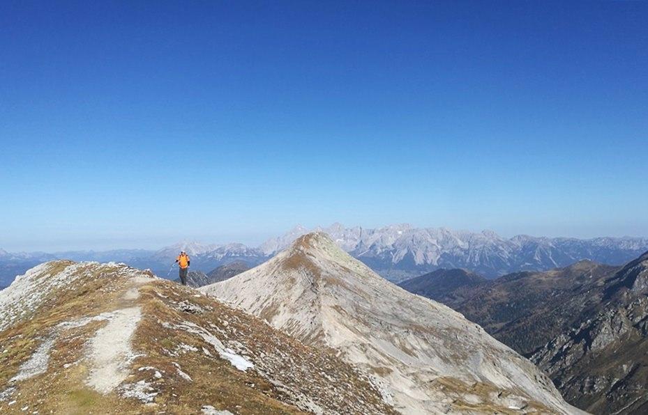 Lungauer und Steirische Kalkspitze - wandern im Herbst